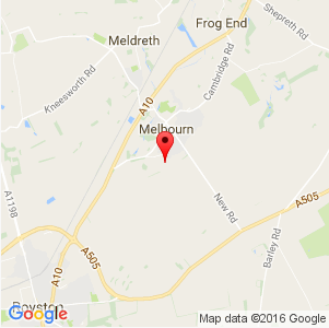 Melbourn Map